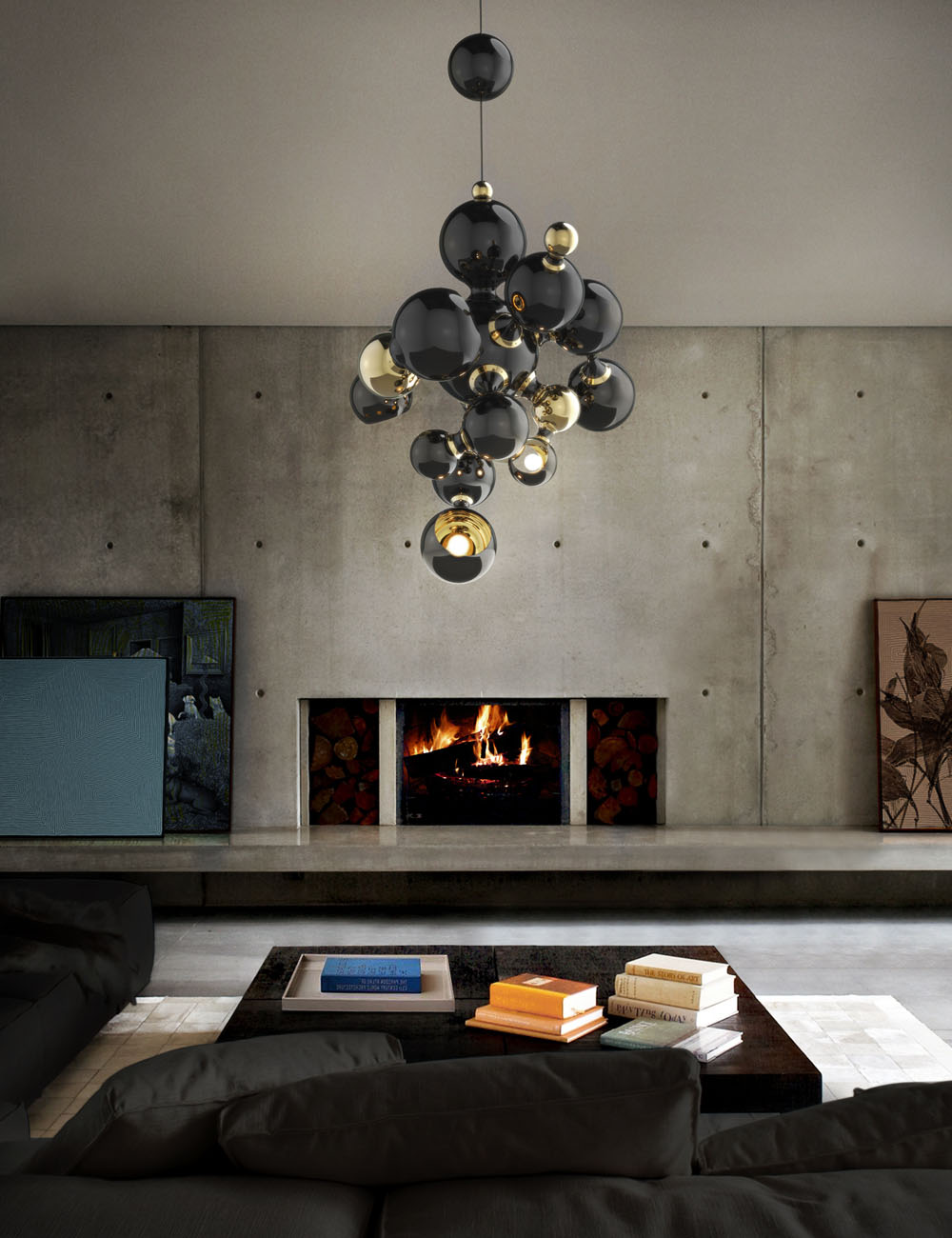 Private Luxury Home in Italy Filled with Contemporary Lighting 11  Private Luxury Home in Italy Filled with Contemporary Lighting Private Luxury Home in Italy Filled with Contemporary Lighting 11