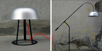 Floor Lamps Essentials Industrial Lamps by Roman Bianco 3