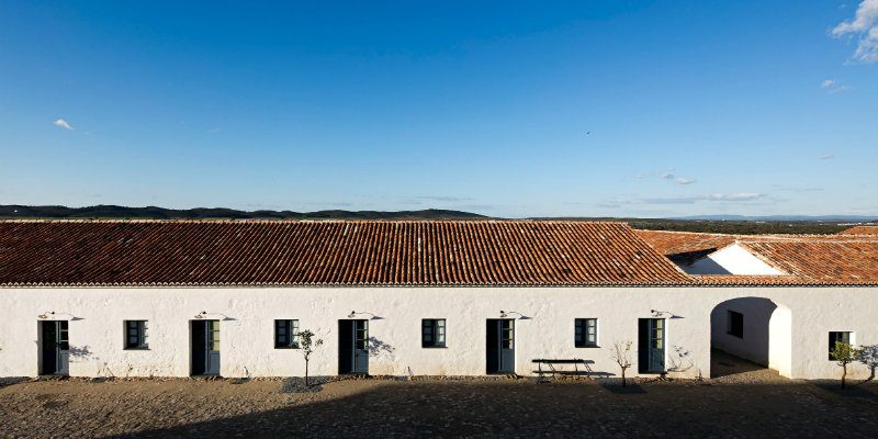 Portuguese Farming House with Unique Lamps You'll Want to Buy FEAT