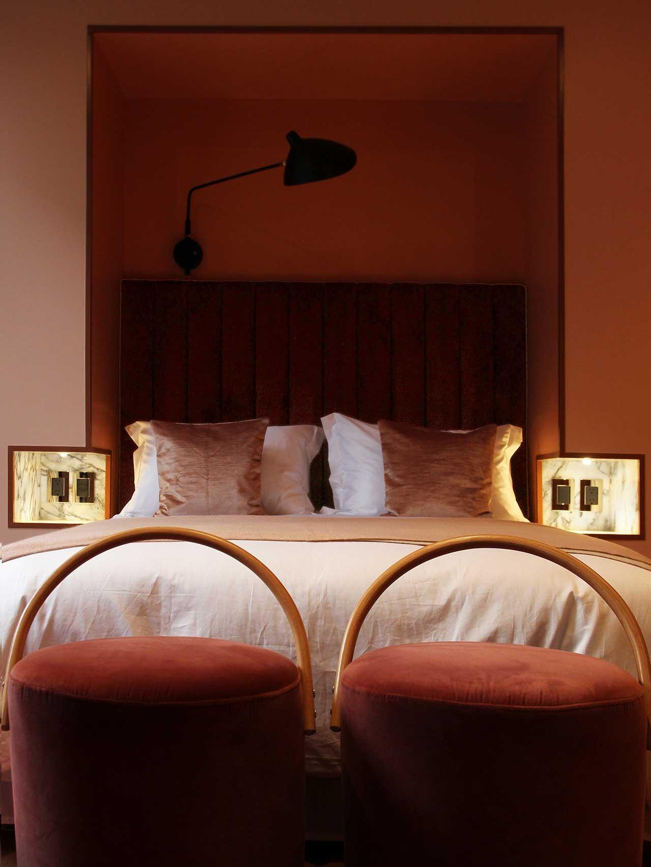 Serge Mouille Lighting Designs Shine in Ignacia Guest House 1