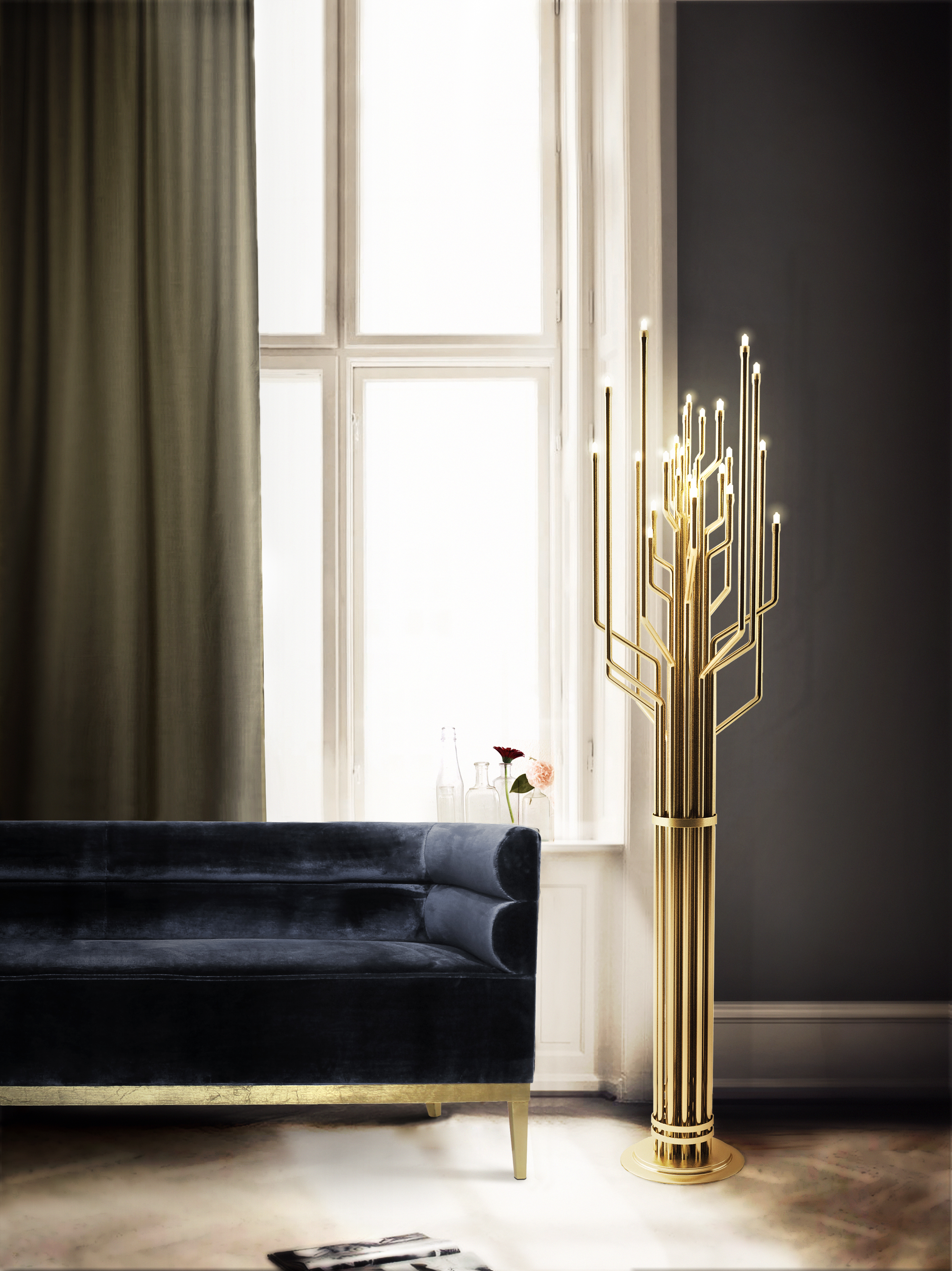 Bright Ideas A Brass Floor Lamp for Your Contemporary Design 1 brass floor lamp Bright Ideas: A Brass Floor Lamp for Your Contemporary Design Bright Ideas A Brass Floor Lamp for Your Contemporary Design 2