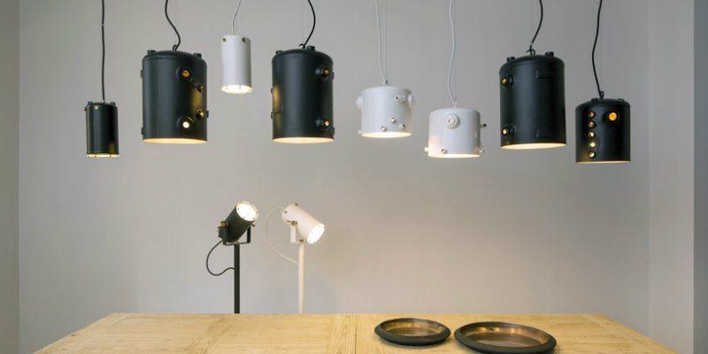 Floor Lamps Essentials Dazzling Copper Floor Lamps by Willem Heeffer FEAT