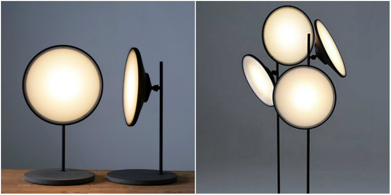 Floor Lamps Essentials Nir Meiri's Soft Lights of Moon 6