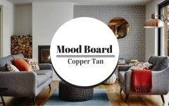 Mood Board Use Copper Tan for a Luxurious Home Decor 5
