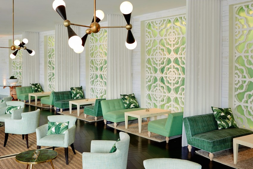 Palm Springs Hotel with Stunning Mid-Century Lighting Designs 1