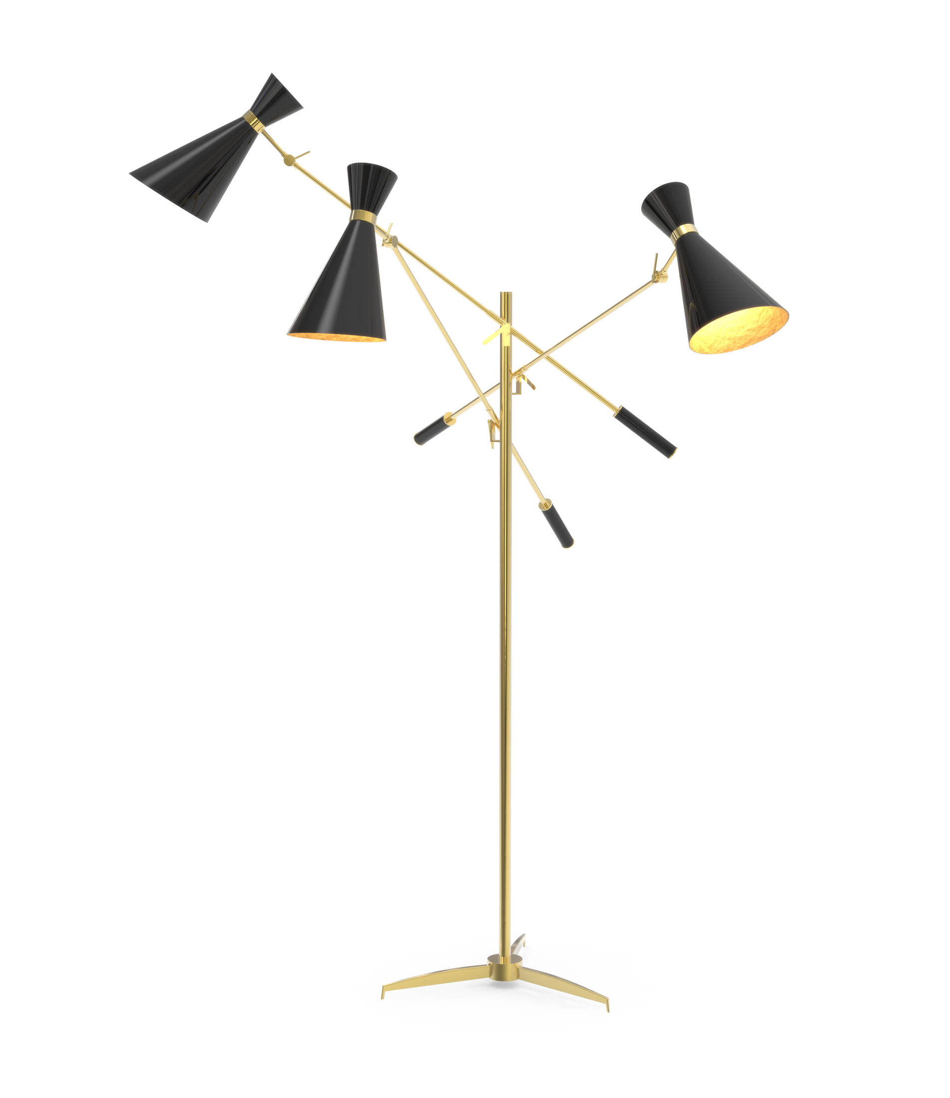 Bright Ideas: An Adjustable 3 Light Floor Lamp That You'll