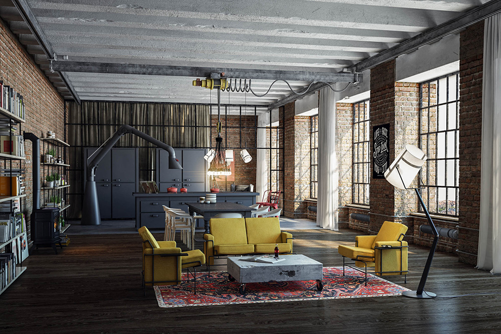 How Modern Floor Lamps Can Brighten Up Your Industrial Loft modern floor lamps How Modern Floor Lamps Can Brighten Up Your Industrial Loft How Modern Floor Lamps Can Brighten Up Your Industrial Loft 4