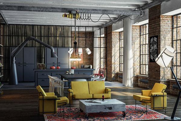 ow Modern Floor Lamps Can Brighten Up Your Industrial Loft