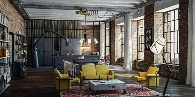 ow Modern Floor Lamps Can Brighten Up Your Industrial Loft
