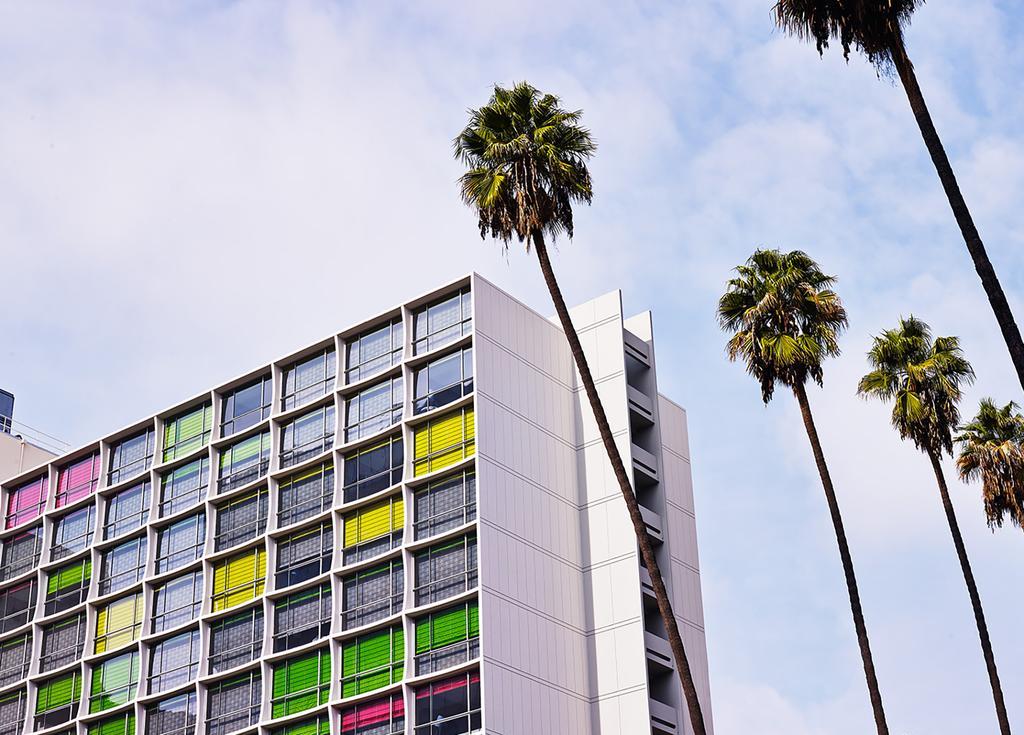 The Line Hotels And It's Unique Floor Lamp Design