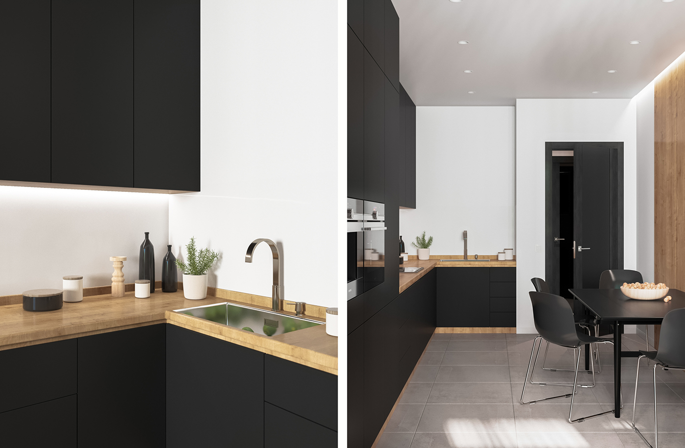 Black and Wood Apartment Shines with Mid-Century Modern Lighting 5 mid-century modern lighting Black and Wood Apartment Shines with Mid-Century Modern Lighting Black and Wood Apartment Shines with Mid Century Modern Lighting 5
