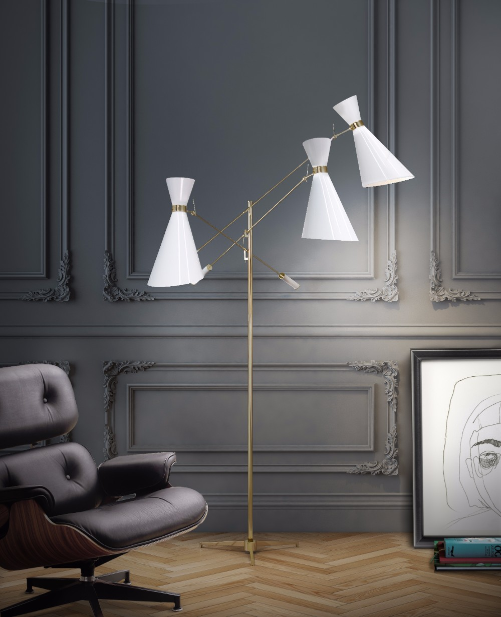 Winter Trends 5 Reasons Why Everyone Love White Floor Lamps 2 white floor lamps