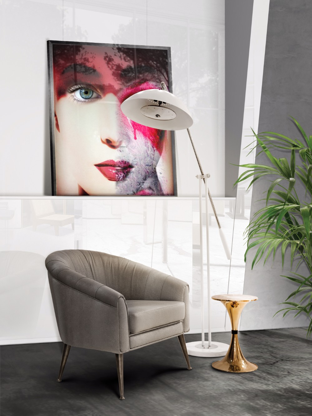 Winter Trends 5 Reasons Why Everyone Love White Floor Lamps 3