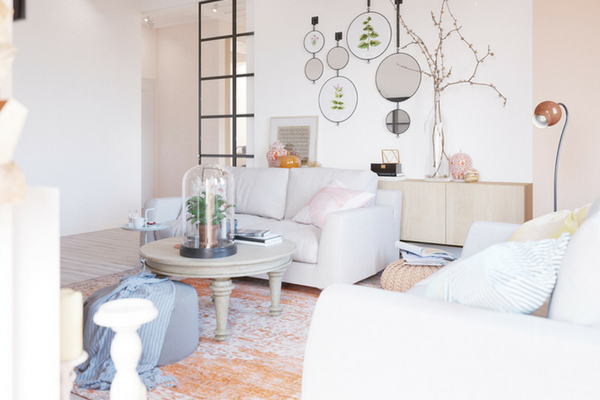 Charming, Fresh and Cosy Modern Interior Design Project!