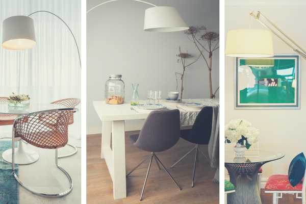 Why Your Dining Room Needs A Modern Floor Lamp