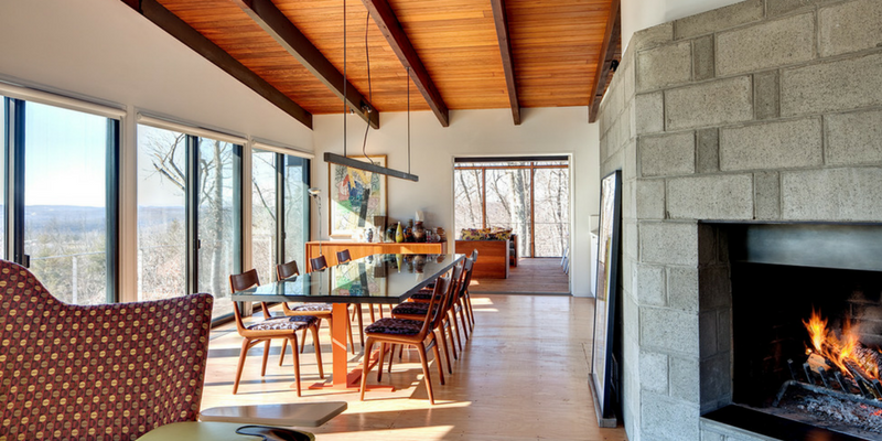 Be Dazzled By This Mid-Century Modern Residence!