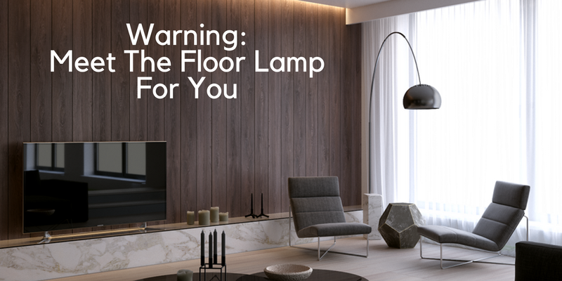 Modern floor lamps for Give the floor