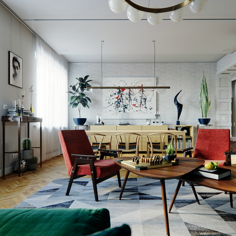 Find Out How This Mid-Century Apartment in Ukraine has Our Hearts! 2 mid-century apartment Find Out How This Mid-Century Apartment in Ukraine has Our Hearts! Find Out How This Mid Century Apartment in Ukraine has Our Hearts 2
