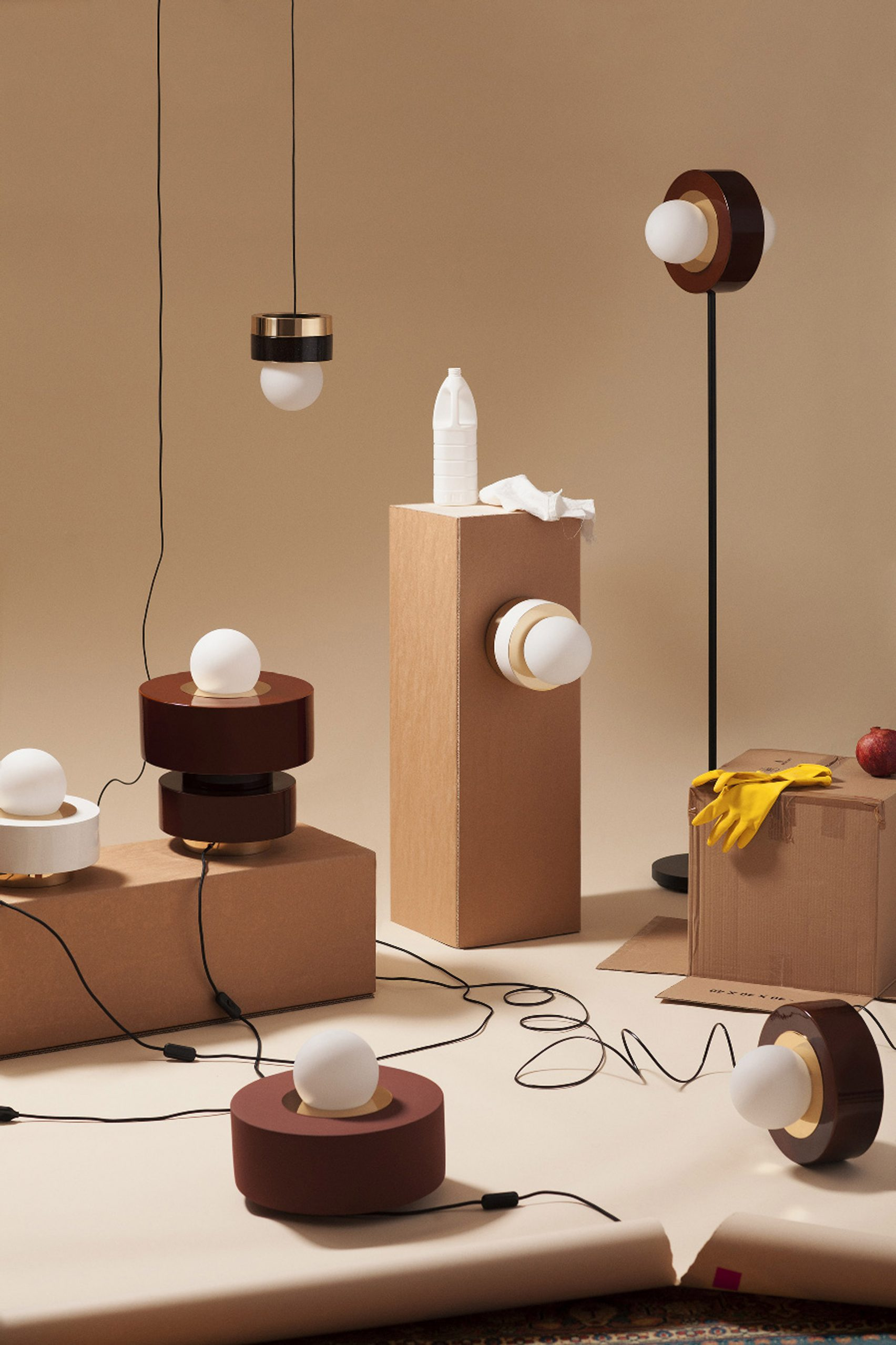 Meet Haos The Collection Of Circular Lamps You Need To See! 1