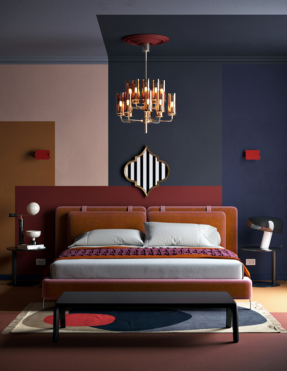 modern lighting bedroom. Keeping Up With The Right Modern Lighting Designs! 4 Designs Bedroom F