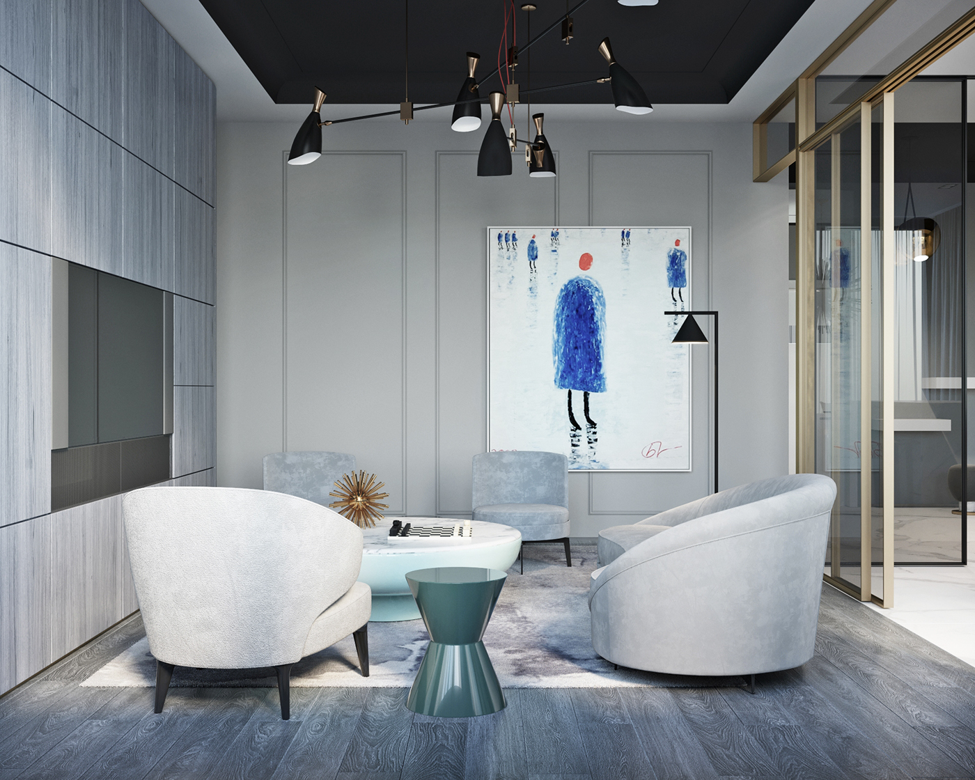 Shades Of Gray Modern Interior Design In Moscow! 1 shades of gray Shades Of Gray: Modern Interior Design In Moscow! Shades Of Gray Modern Interior Design In Moscow 1