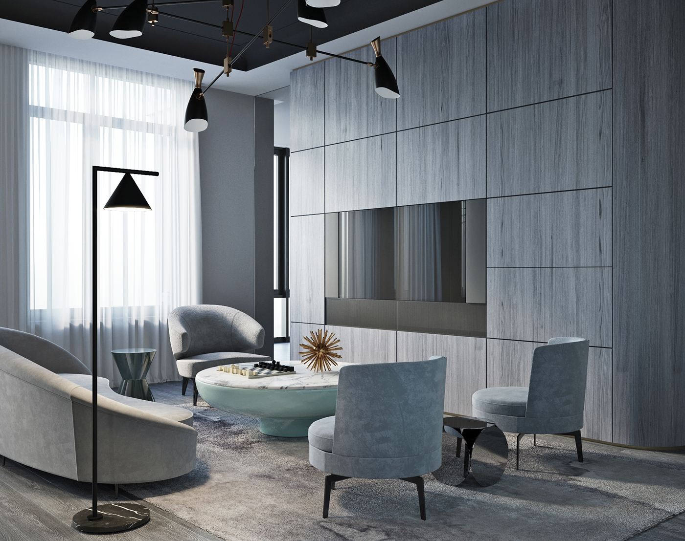 Shades Of Gray Modern Interior Design In Moscow! 2 shades of gray Shades Of Gray: Modern Interior Design In Moscow! Shades Of Gray Modern Interior Design In Moscow 2