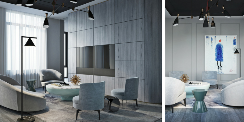 Shades Of Gray_ Modern Interior Design In Moscow!