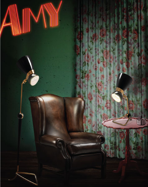 The Black Floor Lamps To Make A Living Room!