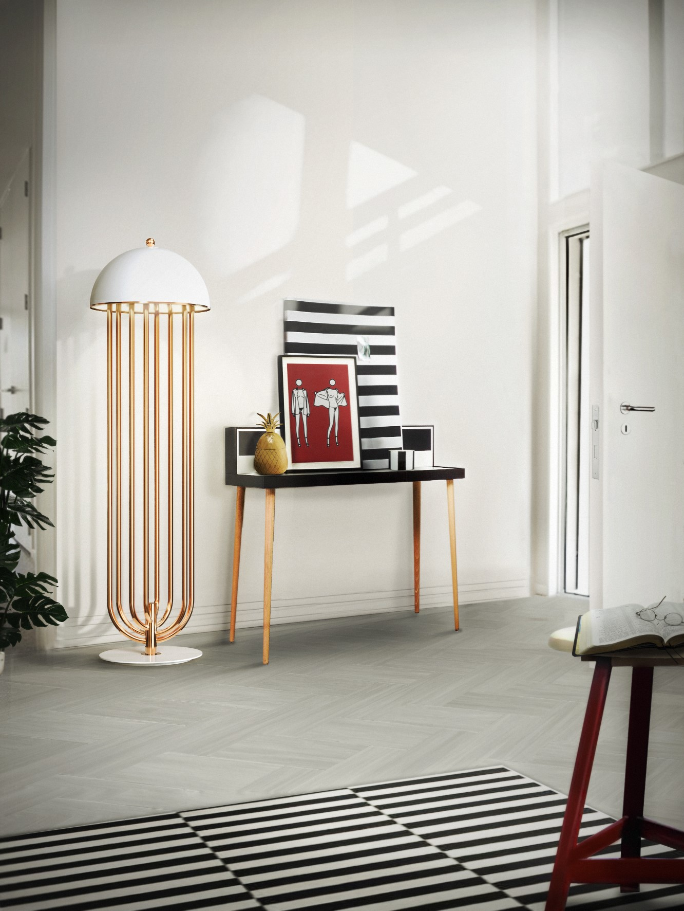 The Sinuous Moves Of The Heritage Lighting Collection