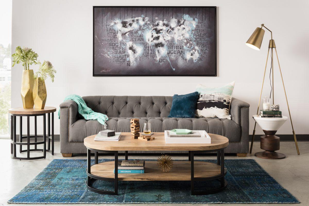 What's Hot On Pinterest 5 Modern Golden Floor Lamps! 4