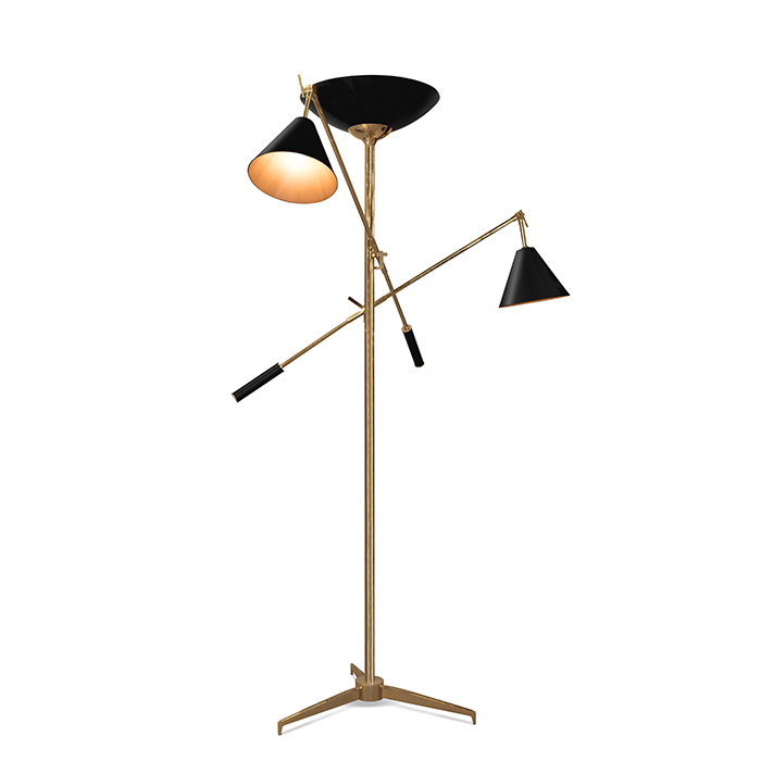 What's Hot On Pinterest Modern Floor Lamps For Your Living Room 7