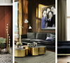 Let Your Home Shine With Your New Golden Floor Lamp