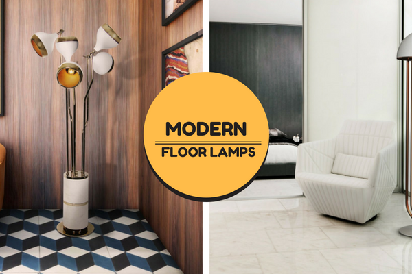 Fall In Love With These Modern Floor Lamps