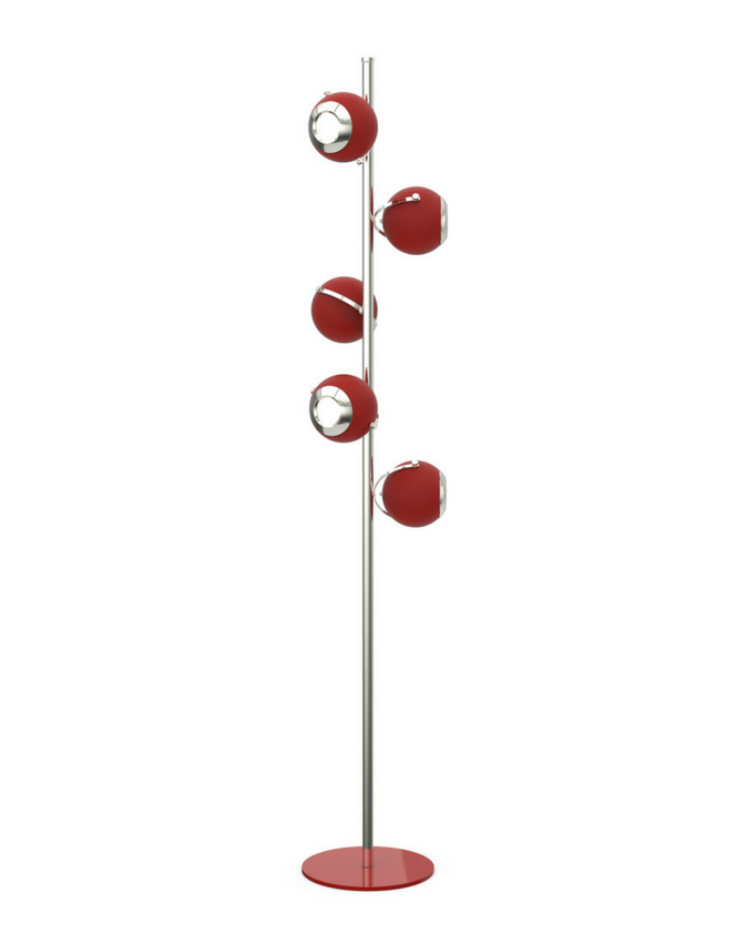 red floor lamp Spice Up Your Home With a Red Floor Lamp Spice up your home with a red floor lamp 2