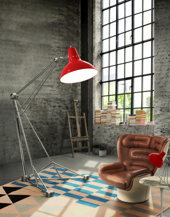 red floor lamp Spice Up Your Home With a Red Floor Lamp Spice up your home with a red floor lamp 3