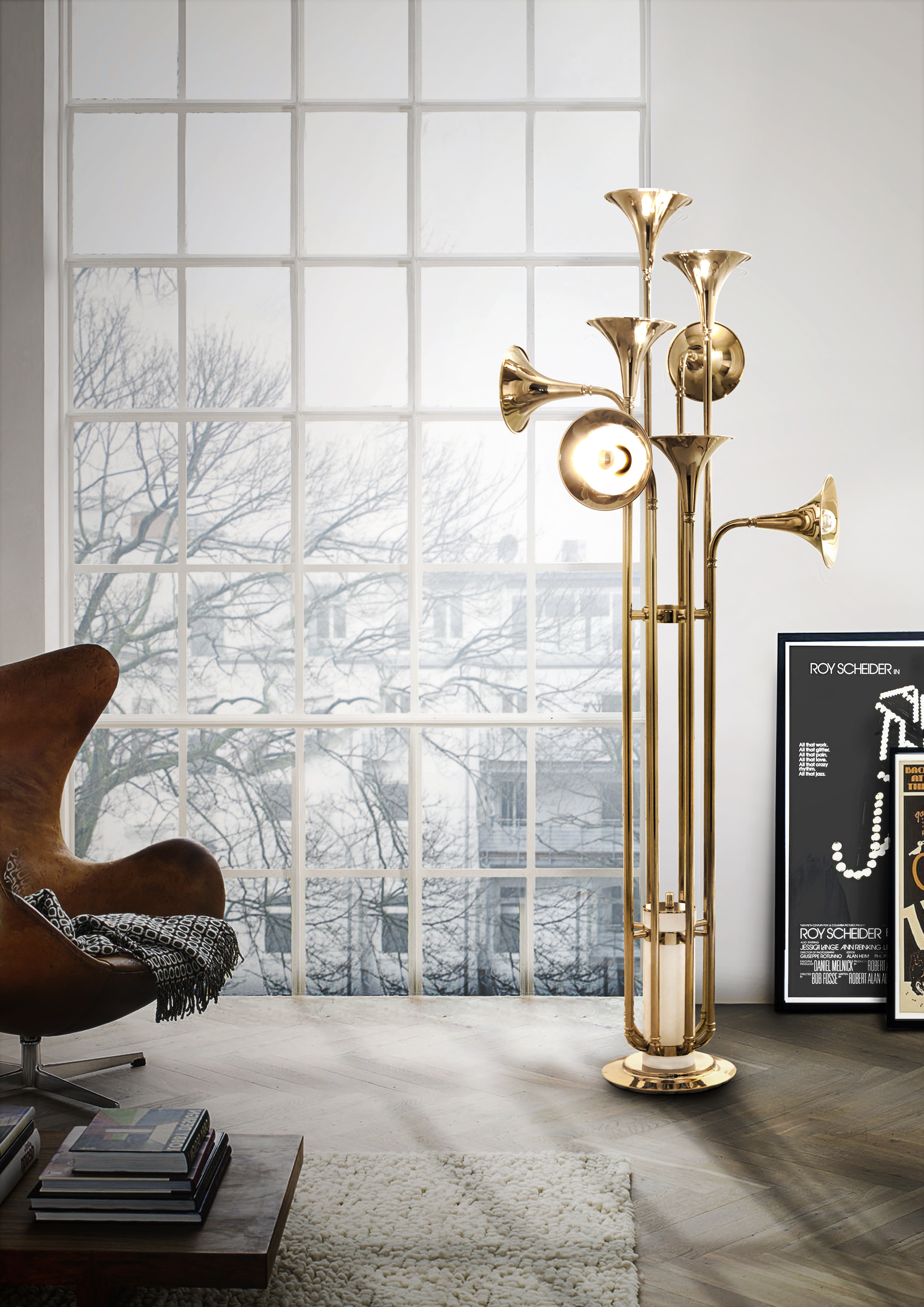 4 Modern Floor Lamps To Be Seen At 100% Design!