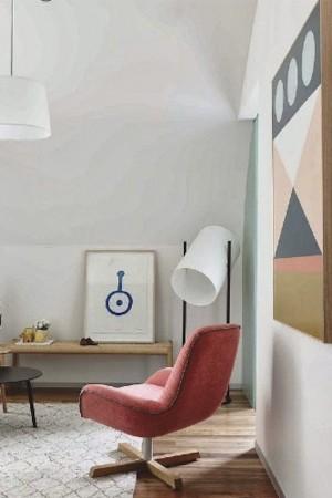 contemporary white floor lamp