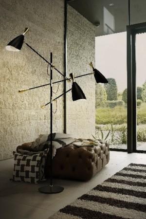 delightfull black floor lamp