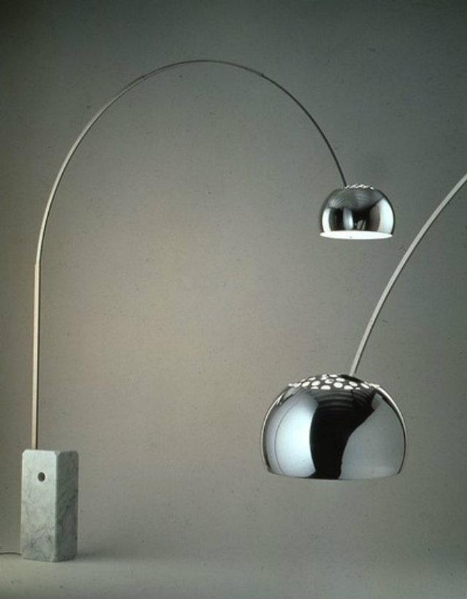 Light Floor Lamp Arco – Achille & Pier Giacomo Castiglioni (1962)