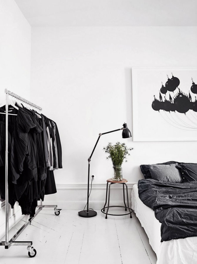 Modern Floor Lamps To Use In A Bedroom Black White Scandinavian