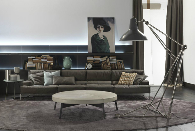 capa contemporary lighting Spring Trends for your contemporary lighting: nickel floor lamps capa