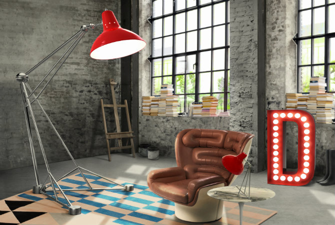 brick walls and floor lamps diana by delightfull industrial design Industrial Design Icons: Floor lamps and brick walls FEAT brick walls and floor lamps diana by delightfull