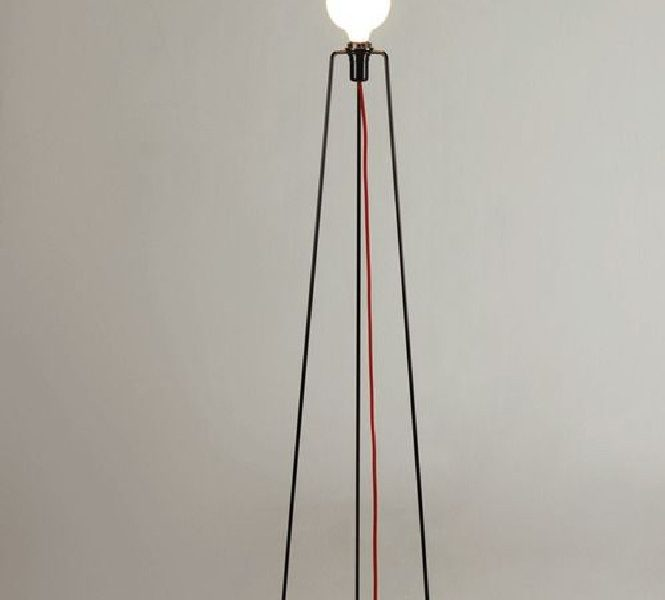 Powder-Coated Metal 'Model' Floor Lamp by Grupa Products, 2012.  Powder-Coated Metal 'Model' Floor Lamp Powder Coated Metal Model Floor Lamp by Grupa Products 2012