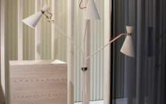 Simone White Floor Lamp by DelightFULL