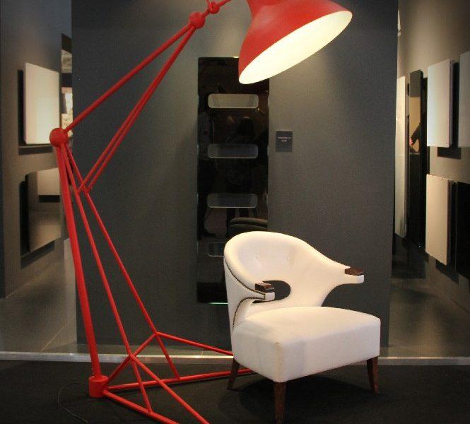 Diana Industrial Floor Lamp