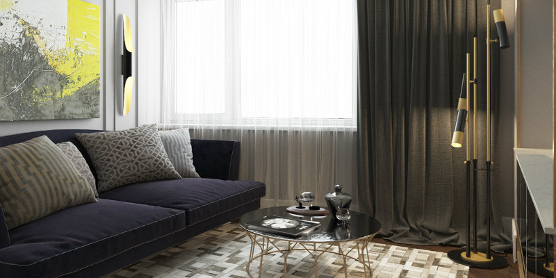 Project interior design A Contemporary Interior Design Project with a modern floor lamp Featured 2