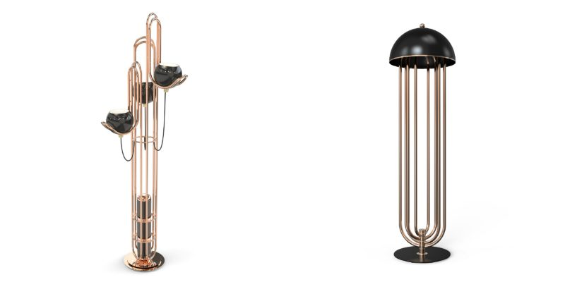 floor lamp designs Some Amazing Floor Lamp Designs Using Copper collage 2 800x400
