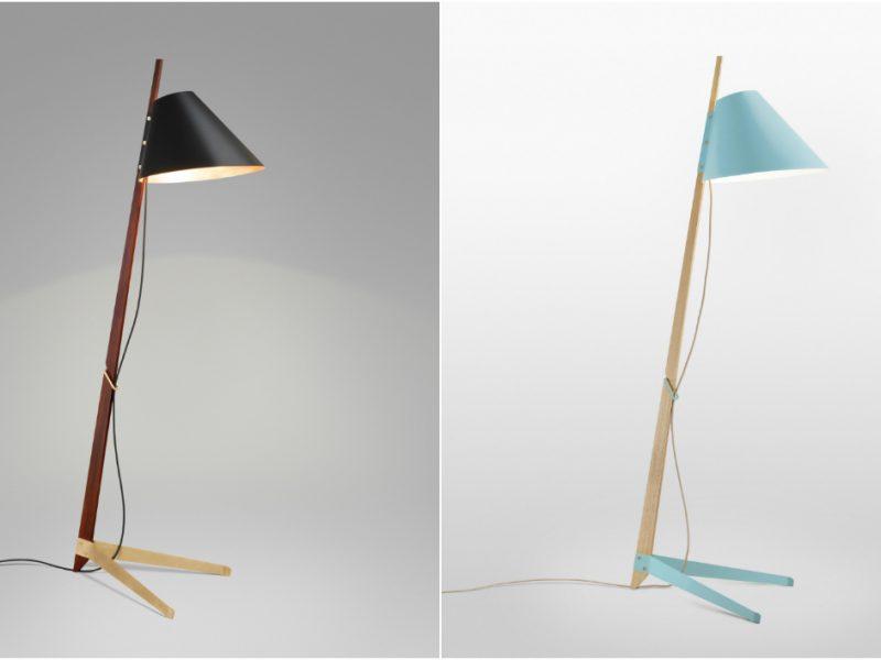 Billy BL Floor Lamp: a Timeless Piece by Studioilse
