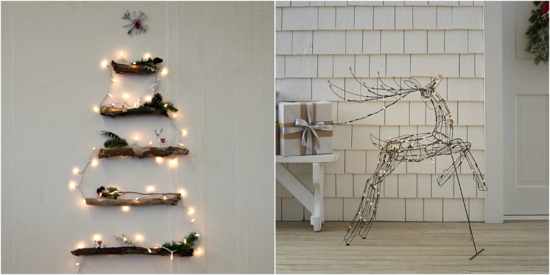 String Light Ideas for Your Minimalist Christmas Decor
