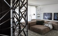 modern floor lamps A Tel Aviv Apartment with Modern Floor Lamps That You Must See p duplex 025 240x150